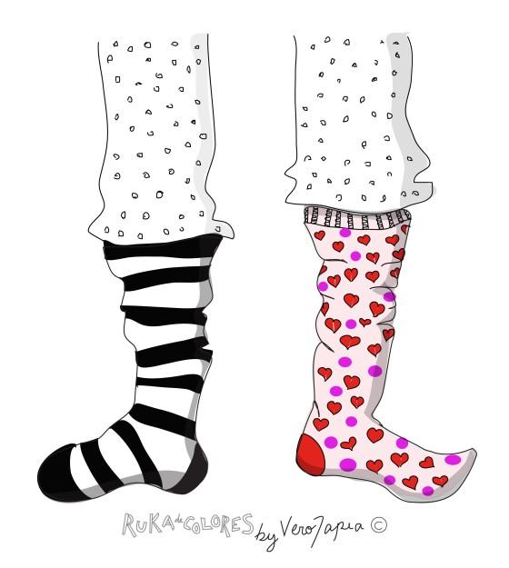 El misterio del calcetín perdido